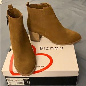 Blondo Suede Waterproof Boots worm once